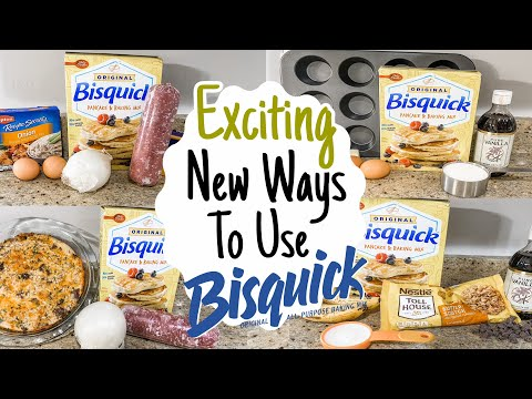 5 tasty recipes using bisquick!   betty crocker baking mix   julia pacheco
