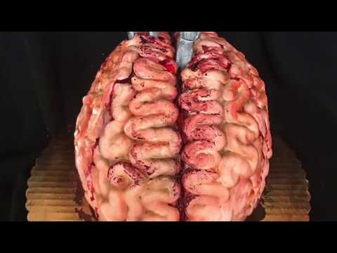 How to make a brain cake