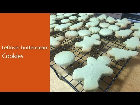 Leftover buttercream biscuits uk : cookies with leftover frosting : buttercream biscuits