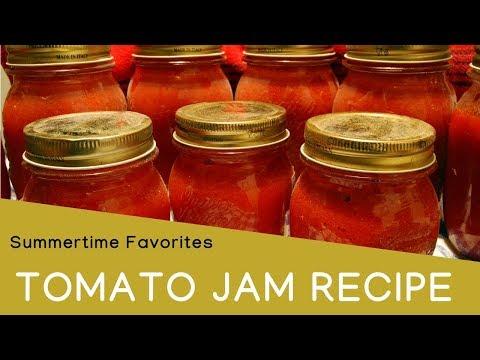 Spicy tomato jam recipe: easy recipe for tomato jam (tomato chutney)