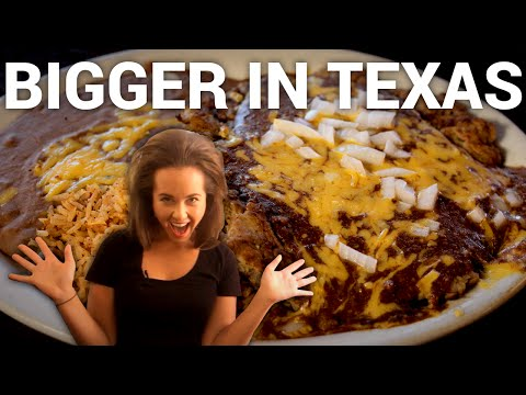 Big texas food - food tripping with molly, episode 5