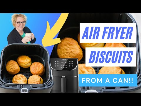 Air fryer biscuits (from a can)