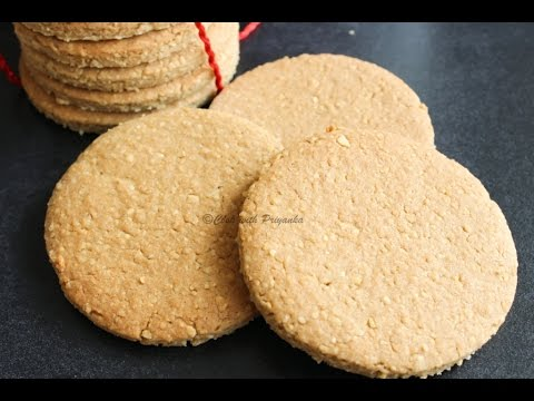 How to make home made digestive biscuits/graham crackers/multigrain biscuits