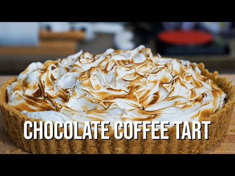 Chocolate espresso tart   how to make recipe