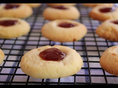 Jam drops (classic cookies) | one pot chef