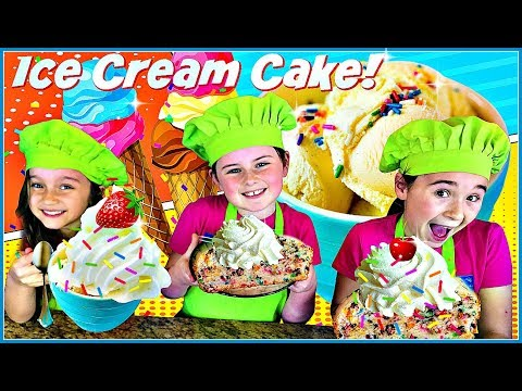How to make bread out of ice cream! so yummy dessert!