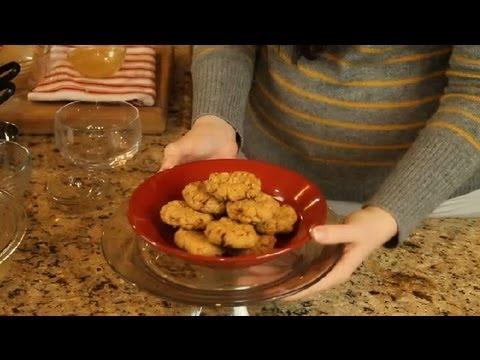 No-flour & no-sugar peanut butter oat cookies : recipes for diabetics