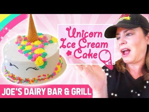 Unicorn soft serve ice cream cake dutchess county