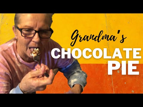 Grandma's chocolate meringue pie recipe