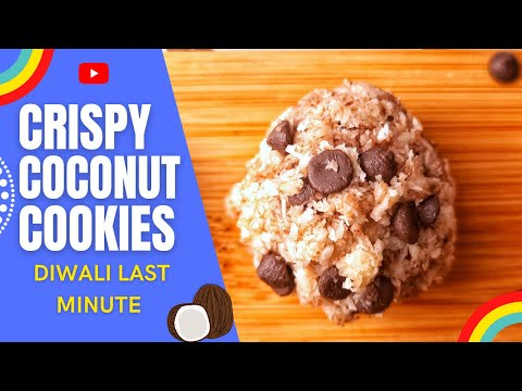 Coconut cookies |no flour | no sugar | without egg | 3 ingredients cookie