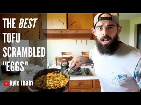 Tofu scrambled eggs recipe vegan / casual vegan cooking