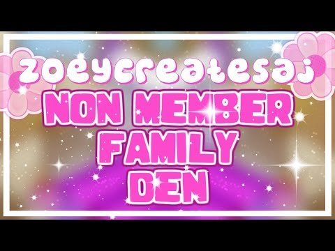 How to i make a family home on animal jam i nm ( non member ) edition