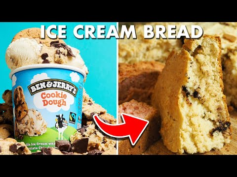 Ice cream bread recipe - using only 2 ingredients