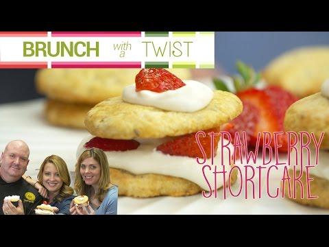 Strawberry shortcake with a twist | brunch with a twist series