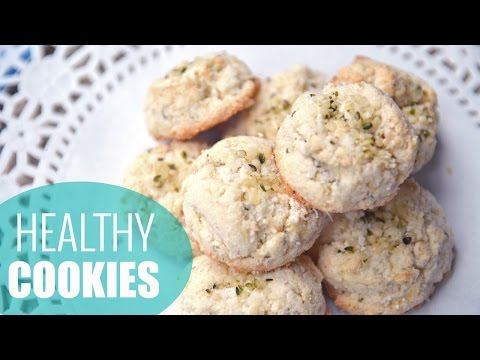 How to make coconut ginger cookies | gluten-free & sugar-free