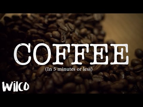 History of coffee in 5 minutes or less.