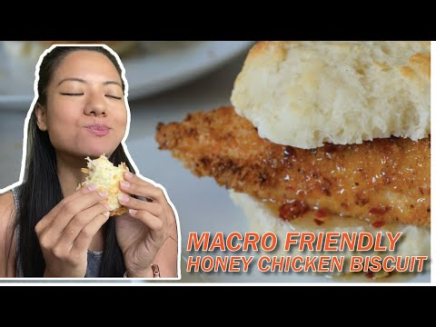 Macro friendly chicken biscuit recipe - southern style | iifym