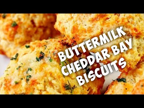 **how to make buttermilk cheddar bay biscuits** asmr