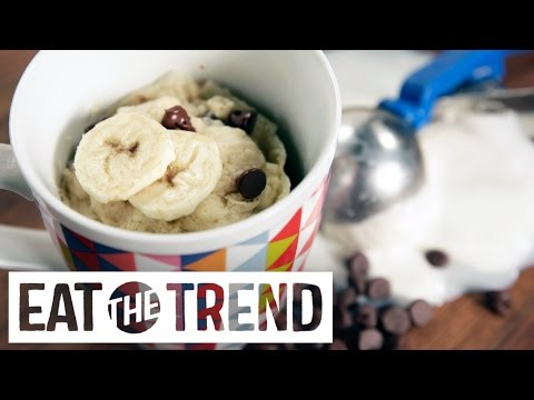 How to make ice cream bread in the microwave   eat the trend