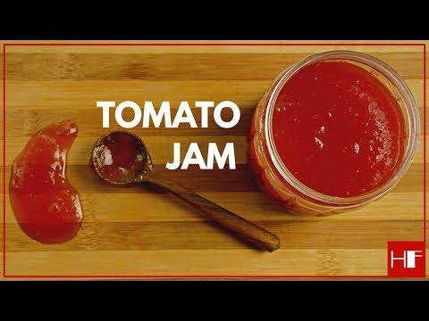 Homemade tomato jam    easy to make    recipe