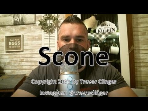 How to say scone
