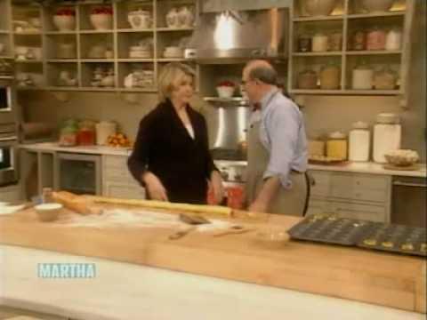 Martha stewart burns sticky buns | seth greenberg | martha stewart