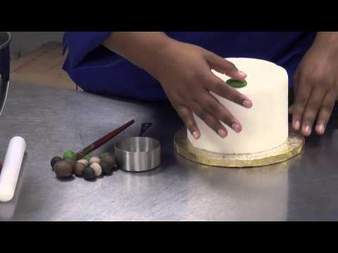 How to make camoflauge on fondant : take the cake
