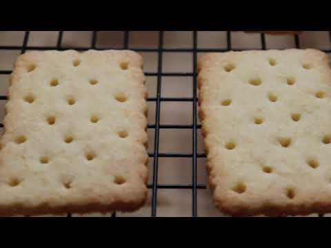 Homemade tennis biscuits