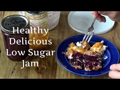 How to make low/no sugar jam - peach, plum, apricot, blackberry; pomona's pectin recipe
