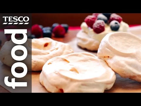 How to make meringue | tesco food
