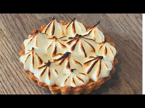 Lemon meringue pie from scratch