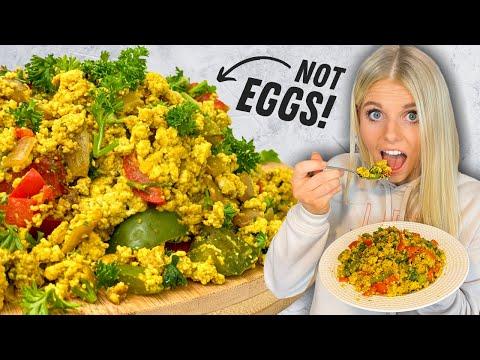 Amazing tofu scrambled egg recipe | super easy vegan scrambled eggs
