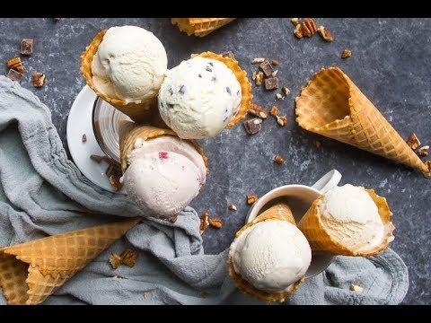 How to make homemade ice cream | ice cream base recipe
