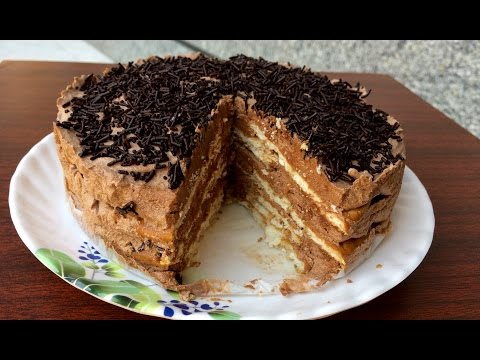 No bake marie biscuit cake | kitchen time with neha