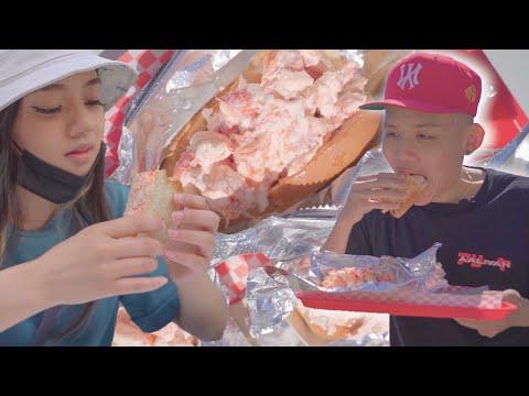 Huge lobster roll food crawl in boston! | the best lobster rolls in boston!