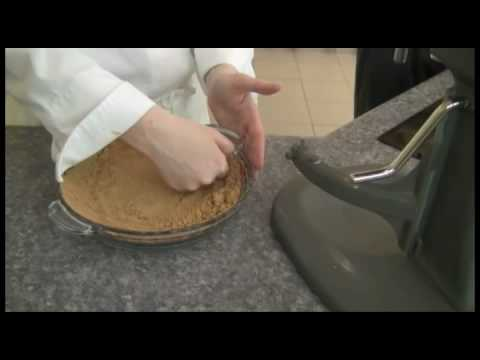 Gluten free lemon meringue pie with graham style crust