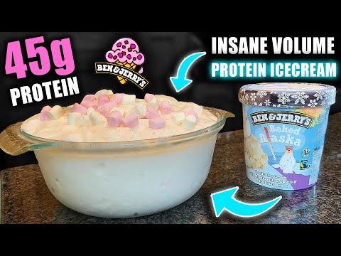 Anabolic baked alaska ice cream | how to make high volume ben & jerry's protein ice cream