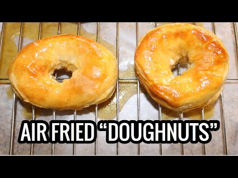 Canned biscuits into air fried doughnuts?