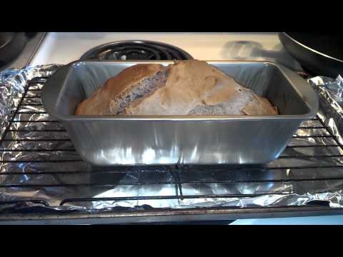 Making ice cream bread
