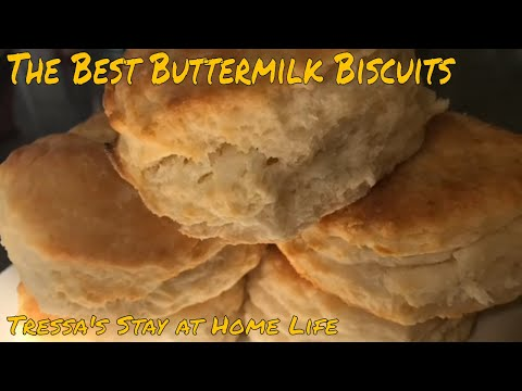 The best buttermilk biscuits (using self rising flour)