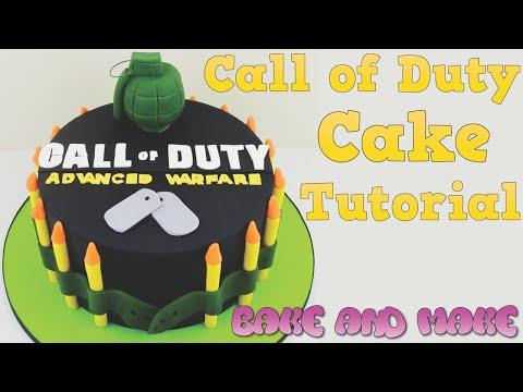 How to make a call of duty cake tutorial. bake and make with angela capeski