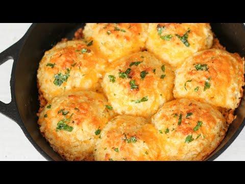 Easy drop biscuits & garlic cheddar biscuits