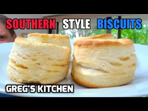 How to make biscuits - 3 ingredients - greg's kitchen