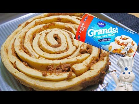 Pillsbury giant cinnamon roll