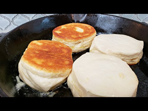 Stove top biscuits   can biscuit dough recipe   easy donuts with can biscuits