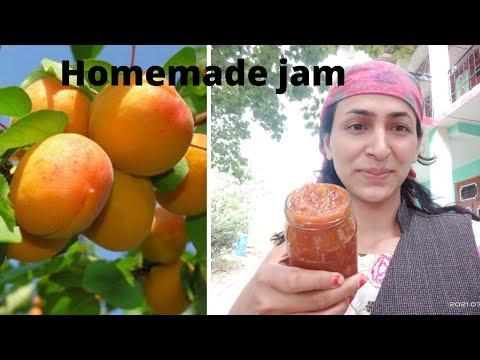 Apricot jam recipe। homemade fruit jam । how to make apricot jam