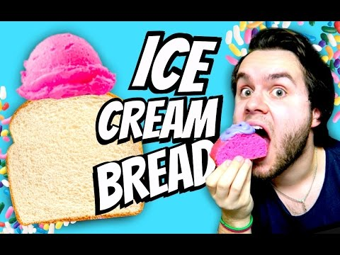 Diy ice cream bread!   how to make bread out of ice cream!   quick & easy tutorial!