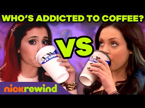 Who's the most addicted to coffee in victorious?! ☕️ nickrewind