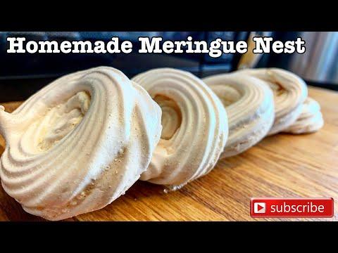 How to make meringue nests | quick and easy pavlova recipe | lutong bulakenyo