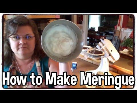 How to make meringue ** baking tips ** cooking hacks